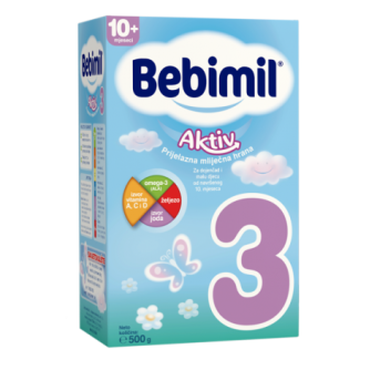 BEBIMIL 3 AKTIV 500 grama