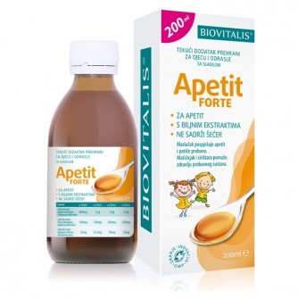 BIOVITALIS APETIT FORTE tekući dodatak prehrani 200ML