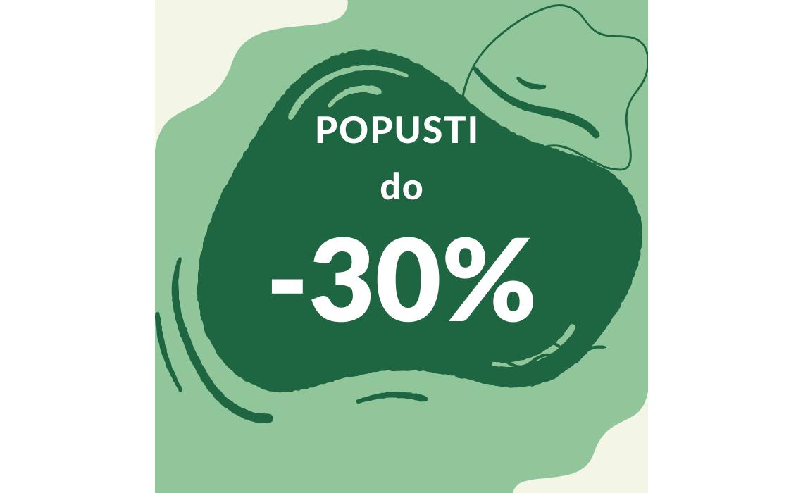 POPUSTI U LISTOPADU