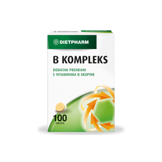 DIETPHARM B KOMPLEKS TABLETE 100 KOM