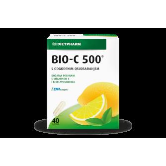 DIETPHARM BIO-C 500 KAPSULE 40 KOM