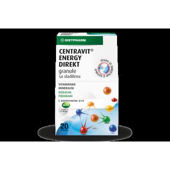 DIETPHARM CENTRAVIT ENERGY DIREKT GRANULE 20 KOM