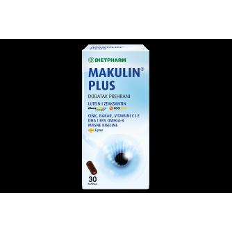 DIETPHARM MAKULIN PLUS KAPSULE 30 KOM