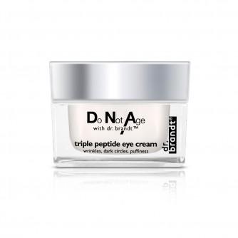DR.BRANDT DNA TRIPPLE PEPTIDE EYE CREAM 15 g anti-age krema protiv bora za područje oko očiju