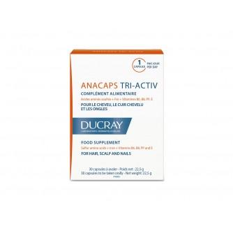 DUCRAY ANACAPS TRI-ACTIV KAPSULE A30