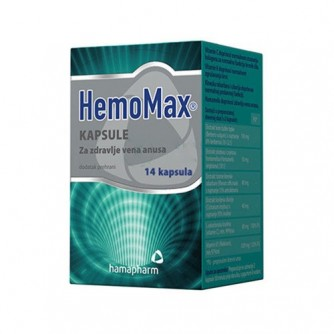 HAMAPHARM HEMOMAX KAPSULE A14