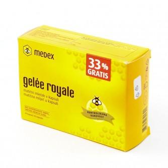 MEDEX GELEE ROYALE KAPSULE 30 KOM + 33% GRATIS