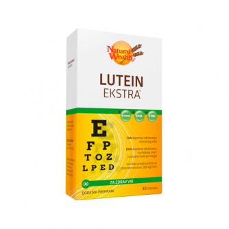 NATURAL WEALTH LUTEIN EXTRA 60 kapsula