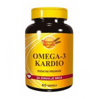 NATURAL WEALTH OMEGA 3 KARDIO 60 KAPSULA