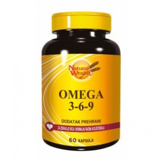 NATURAL WEALTH OMEGA 3-6-9  60kapsula