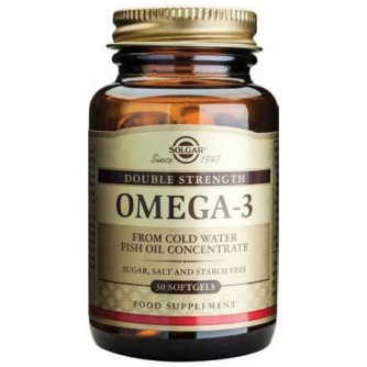 SOLGAR OMEGA-3 DOUBLE STRENGTH 30 KAPSULA