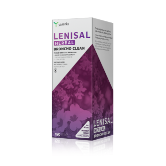 A YASENKA LENISAL HERBAL BRONCHO CLEAN tekući dodatak prehrani